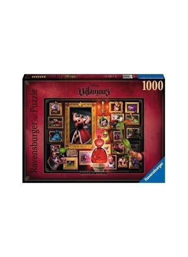 Ravensburger Ravensburger 1000 Parçalı Puzzle WD Villainous Kupa Kraliçesi Pembe
